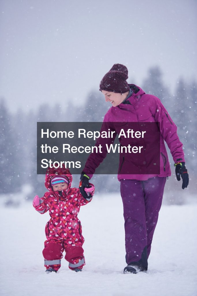 Home Repair After the Recent Winter Storms