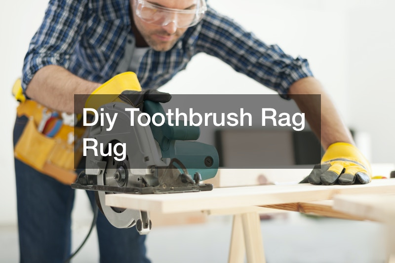 Diy Toothbrush Rag Rug