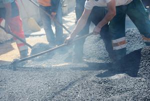 How an Asphalt Paver Works and Keys to a Successful Commercial Construction Asphalt Paving Services